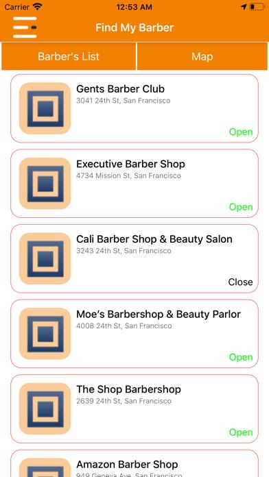 Find My Barber screenshot #2