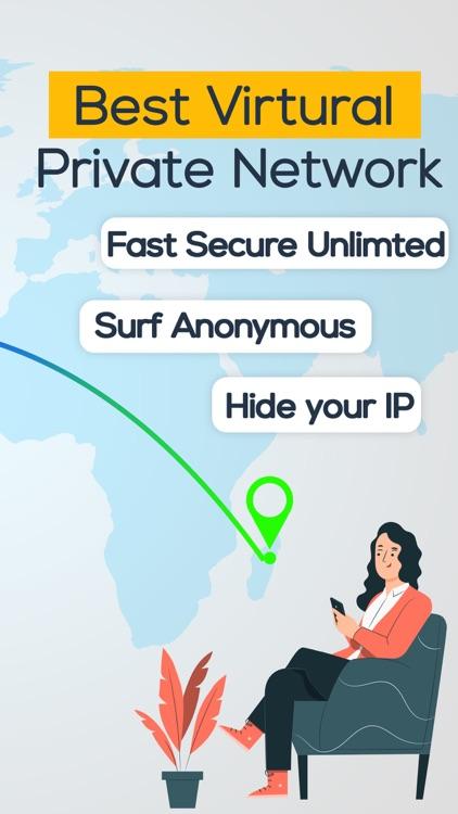 VPN Super VPN   ad blocker screenshot-3