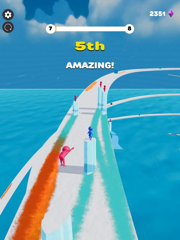 Ice Lava Run screenshot 12