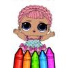 Glitter Princess Coloring Book