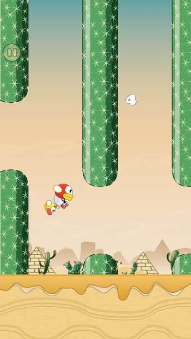 Monko Flappo PLUS-Flappy Monky screenshot four