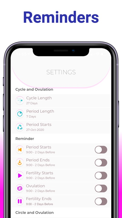 PC: Period Tracker Widget screenshot-4
