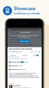LinkedIn Learning iphone images
