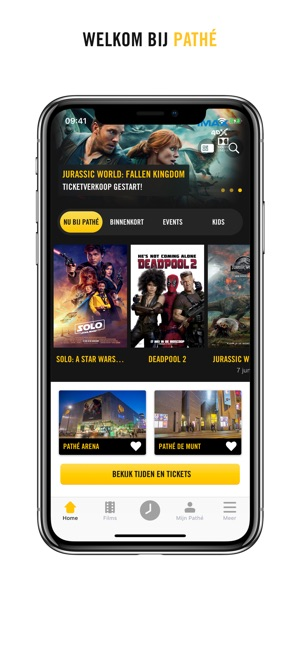 Pathé App In De App Store