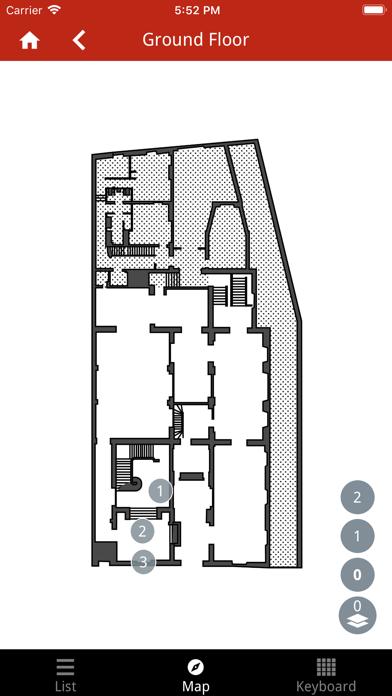 Screenshot of Cernuschi Museum Collection App