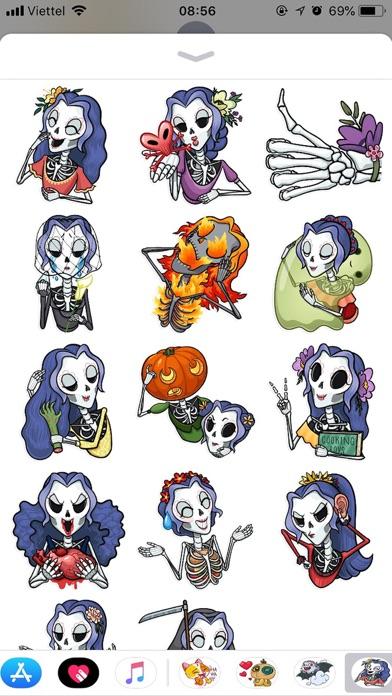 Halloween Emoji Funny Sticker screenshot 1
