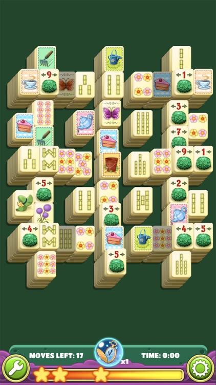 Mahjong Flower Garden Puzzle screenshot-7