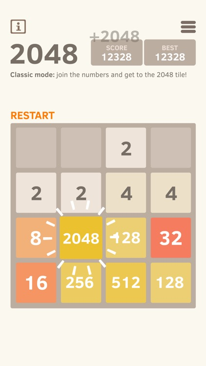 2048 Number Puzzle game screenshot-4