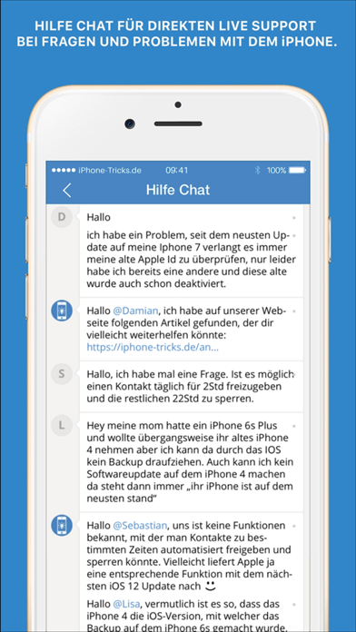 Screenshot for Tricks fürs iPhone (Pro) in Germany App Store