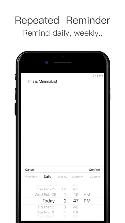 MinimaList - To Do List Tasks screenshot-6