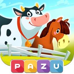 Pazu farm games for kids