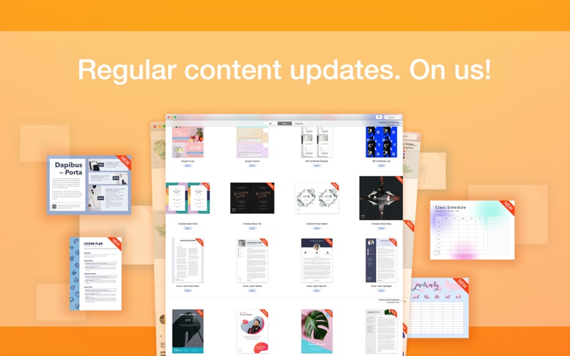 Screenshot #4 for Publisher Lab - Templates