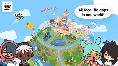 Screenshot for Toca Life: World in United States App Store