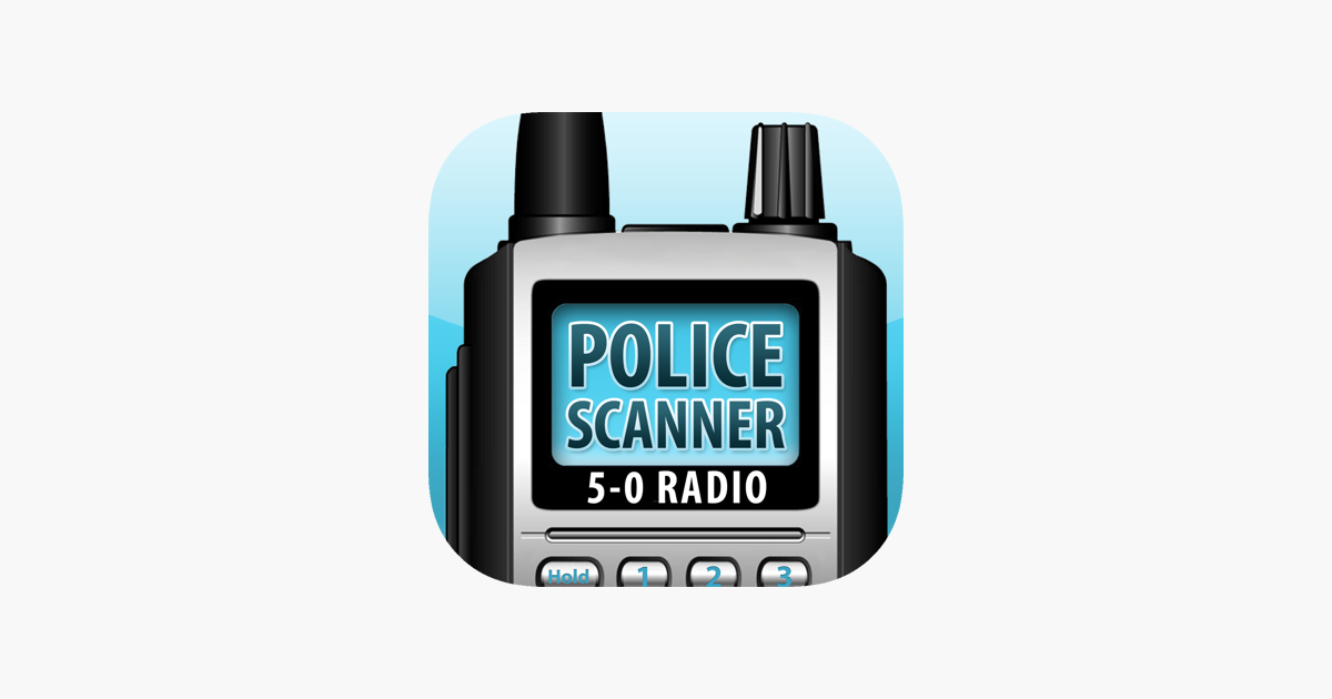 5 0 Radio Police Scanner On The App Store