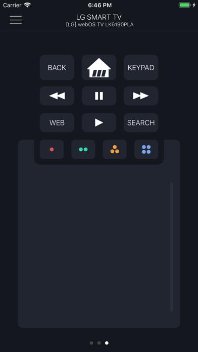 Smartify:LG TV のリモコンのおすすめ画像1