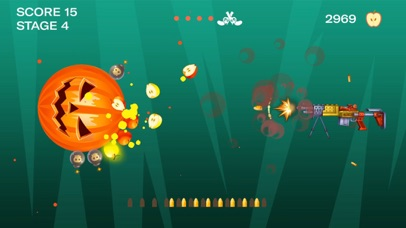 Shooting Fruit Master-Gun Game Screenshot on iOS