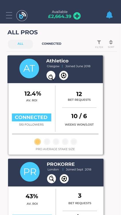 Betconnect - Sports Betting screenshot-3