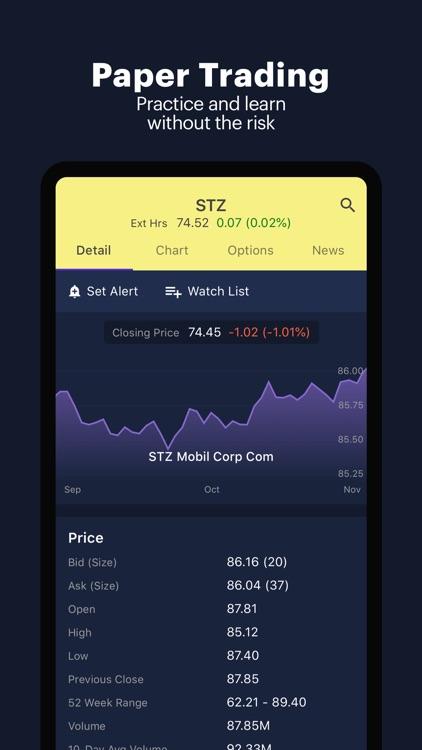 Power E*TRADE-Advanced Trading