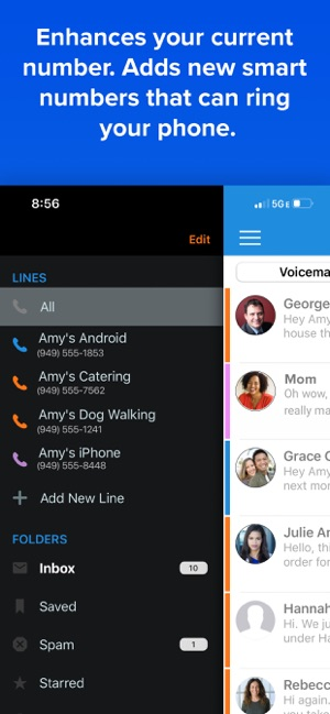 YouMail Voicemail & Spam Block Screenshot