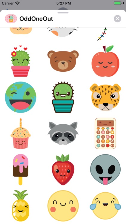 Odd One Out Sticker Pack screenshot-3