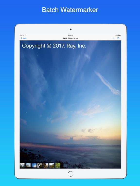 Ray Watermark Screenshots