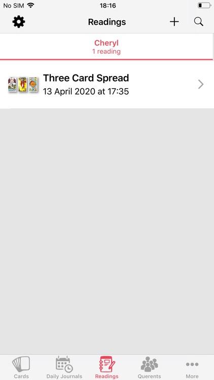Tarot Journal screenshot-4