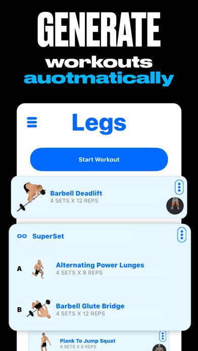 GymStreak: Workout Planner AIのおすすめ画像2