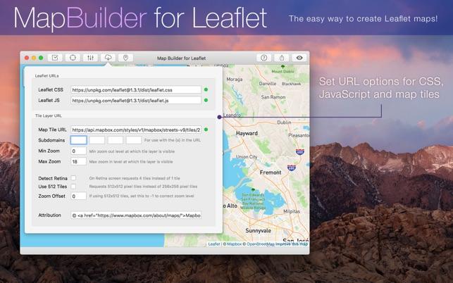 MapBuilder for Leaflet