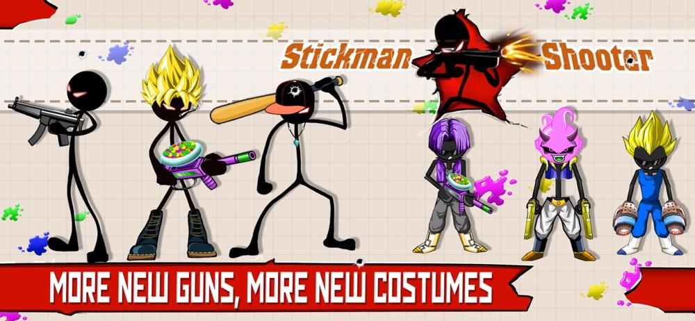 Stickman Shooter: Gun Shooting