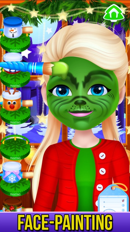 Christmas - Princess Makeover screenshot-3