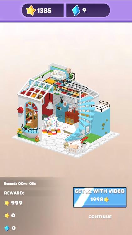 Diy World 3D : Home Design screenshot-5