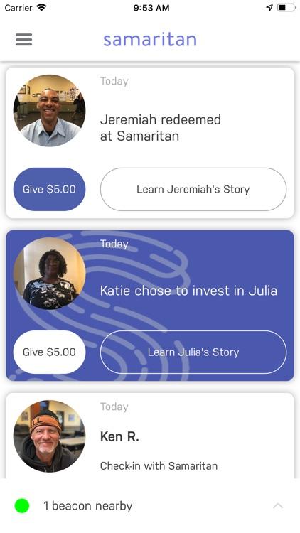 Samaritan – Walk With, Not By