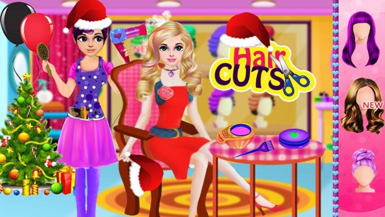 Christmas Girl Party Salon Day screenshot-6