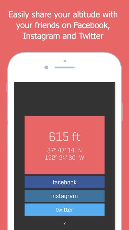Alti - Altimeter & Compass screenshot-3
