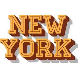 New York City stickers & emoji