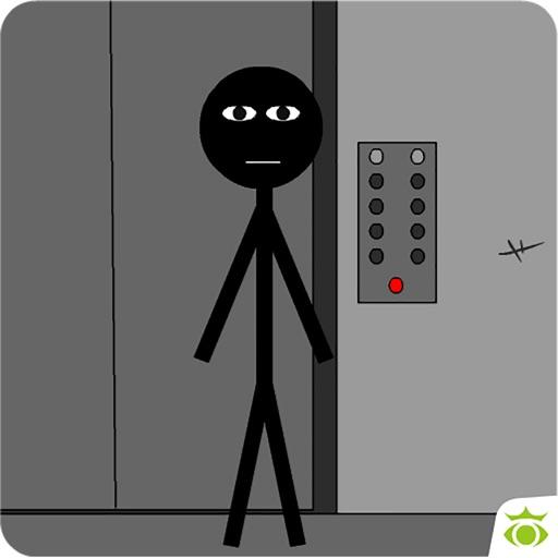 Стикмен лифт побег