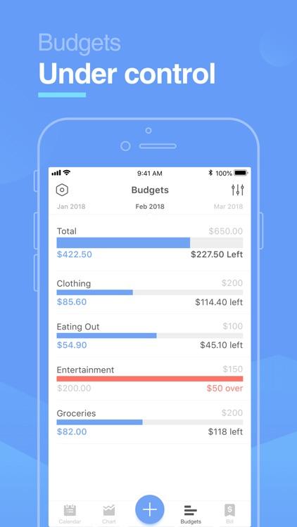 Pocket Expense Pro screenshot-3