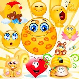 Emoji emoticons for chat