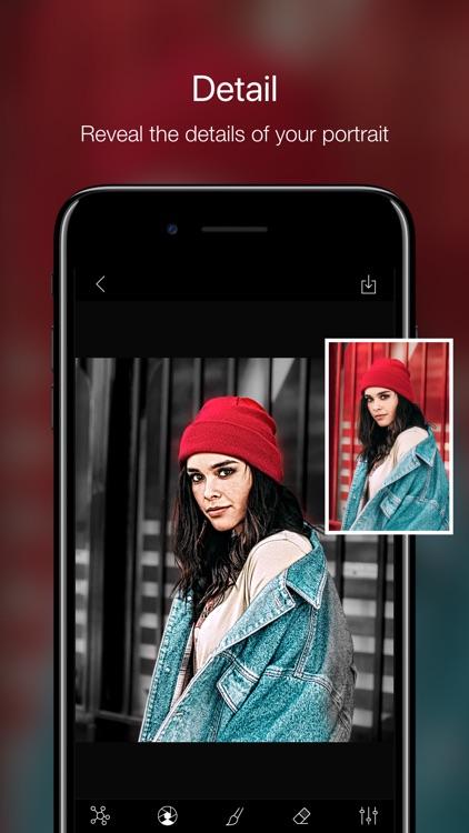 Phocus: Portrait mode editor screenshot-4