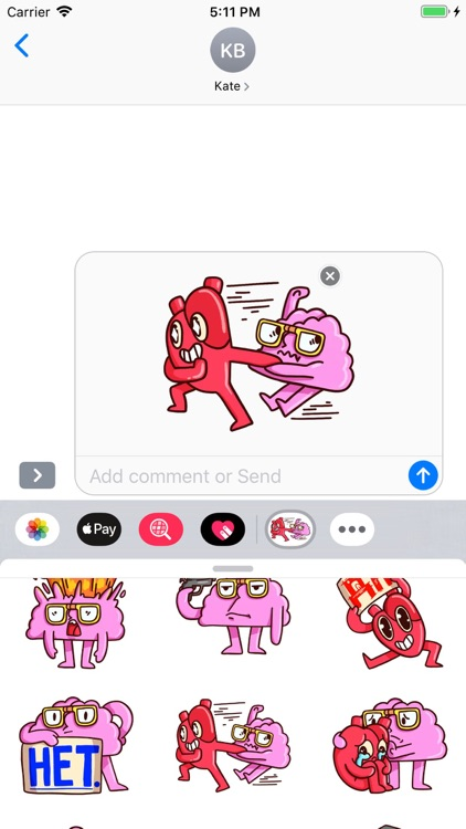Brain Stickers Pack screenshot-7