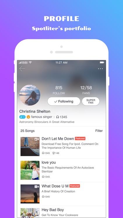 Spotlite - Sing Freely screenshot-4