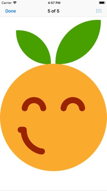 Clementine Stickers screenshot-5