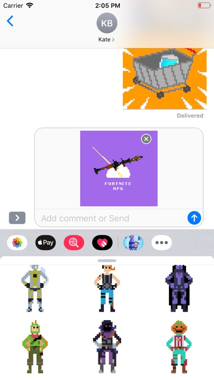 Pixel Stickers for Fortnite screenshot-4