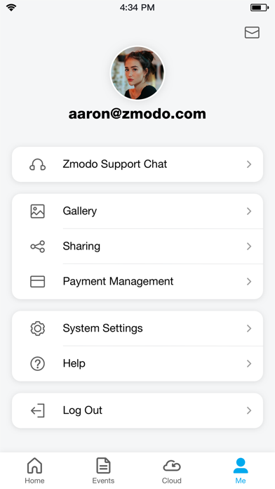 Zmodo Screenshot