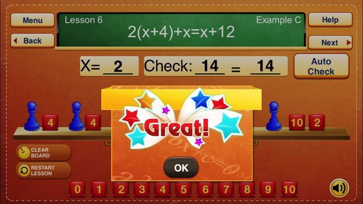 Hands-On Equations 1 screenshot-3