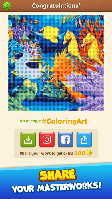 Cross Stitch: Coloring Art på PC