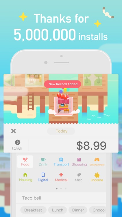 Fortune City - Expense Tracker screenshot-0