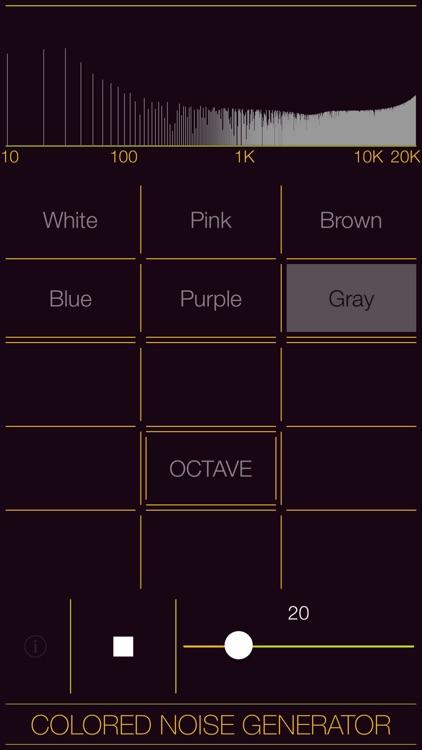 Colored Noise Generator screenshot-6