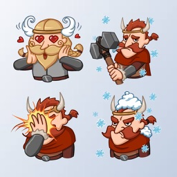 VikingMoji - Viking Stickers