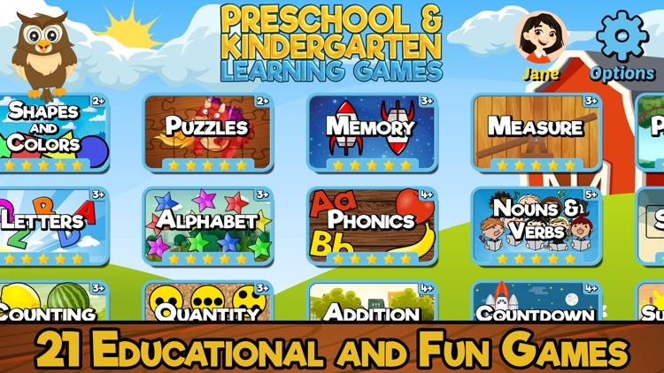 Preschool & Kindergarten Games screenshot-0